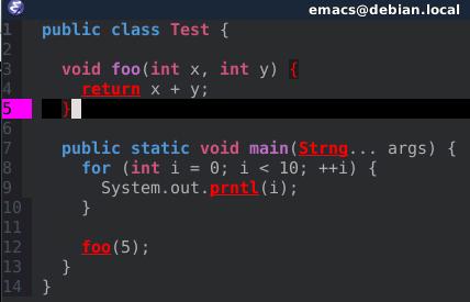 Setting up Emacs for Java Development – Peter Goldsborough
