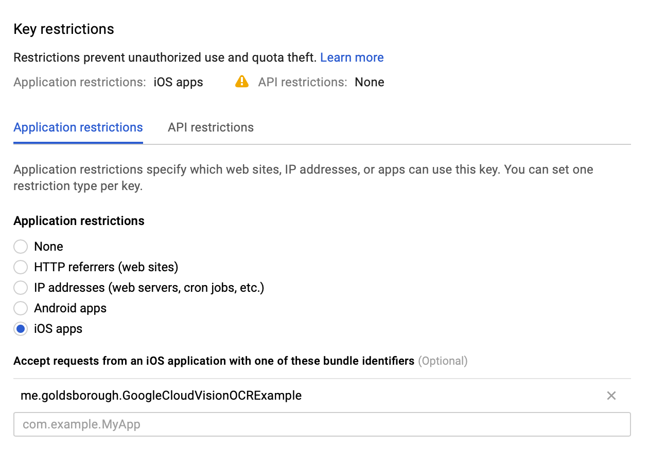 Using the Google Cloud Vision API for OCR in Swift – Peter